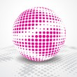 Disco ball — Vector de stock #4121514