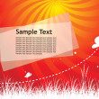 Sample text — Stock Vector