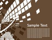 Zusammenfassung mosaik hintergrund — Stockvektor