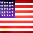 American flag Grunge Textures — Stock Photo