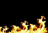 Berg van brand — Stockfoto
