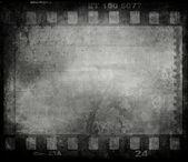 Metin veya resim alanı olan grunge film arka plan — Stok fotoğraf