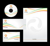 Letterhead Template design - vector — Stockvektor