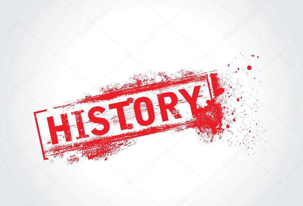 History Grunge Text — Stock Vector #4137136