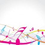 Music theme — Stock Vector