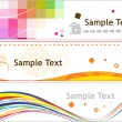 Creative banner - Stock Vector