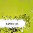 Stock Vector: Sample text