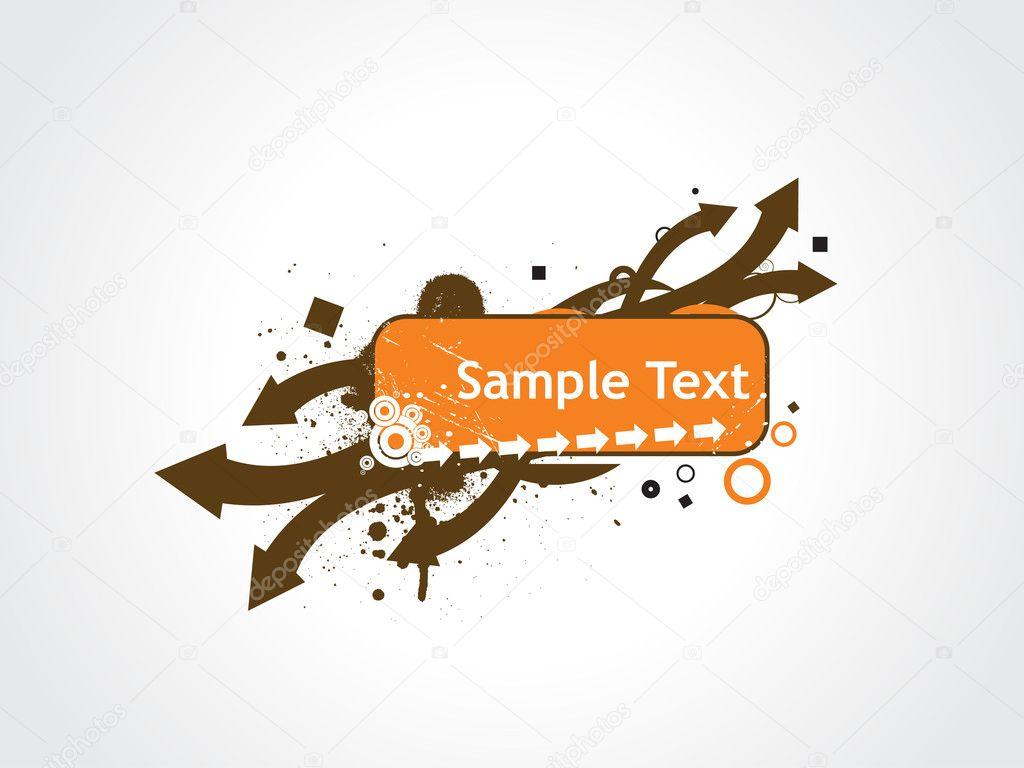 Sample Text Wallpaper Grunge Arrow Sample Text