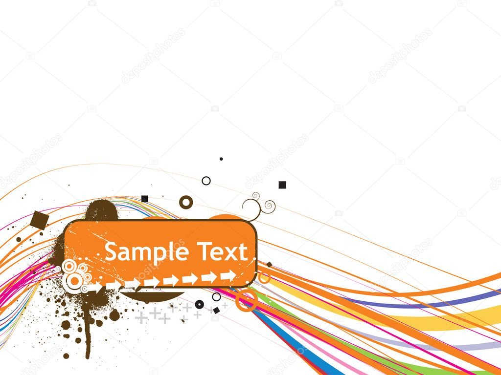 Sample Text Wallpaper Line Sample Text Vector