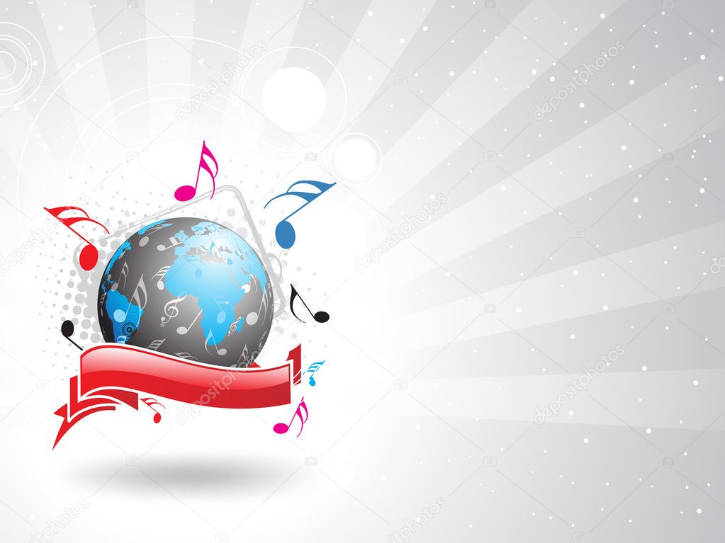 Music theme — Stock Vector #4158884