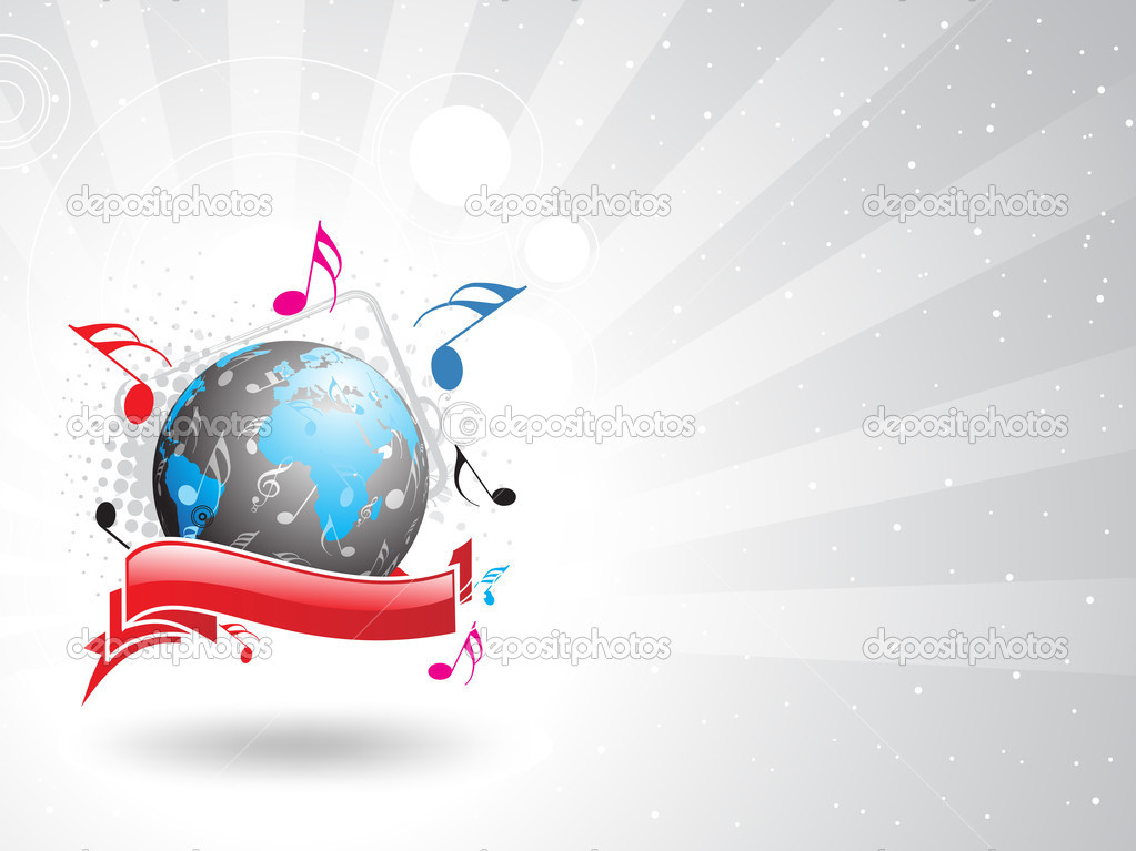 Music theme  Image vectorielle #4158884
