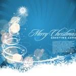 クリスマスのカラフルなデザイン — ストックベクタ #4326342