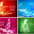 Stock Vector: Christmas colorful design