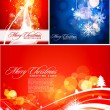 Royalty-Free Stock Imagem Vetorial: Christmas colorful design