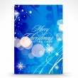 Christmas greeting card — Stock Vector #4327157