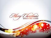 クリスマスのカラフルなデザイン — ストックベクタ