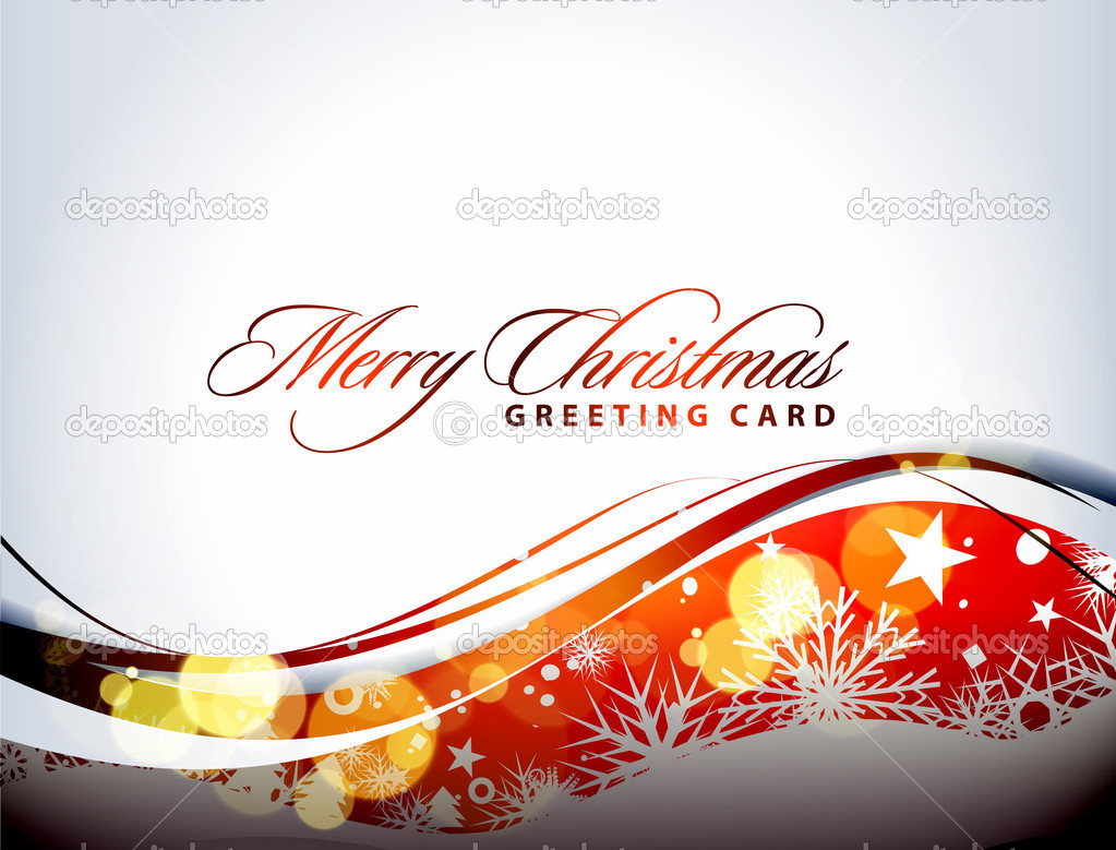Abstract background for new year and for Christmas colorful design for text project used. — 图库矢量图片 #4327670