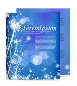 Christmas template designs — Stock Vector
