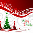 Elegant christmas background with beautiful concept,vector illus — 图库矢量图片