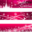 Christmas abstract background,vector illustration — Stock Vector