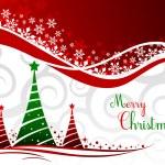 elegante fondo de Navidad con bello concepto, vector illus — Vector de stock
