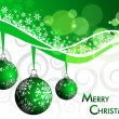 Elegant christmas background with beautiful concept,vector illus - Stock Vector