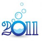 año nuevo diseño — Vector de stock  #4436892