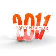 New year design — Stockvector #4436904