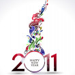 New year design — Stockvector #4436933
