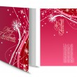 Stock vektor: Christmas greeting card