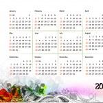 2011 calendar — Stock Vector #4448546