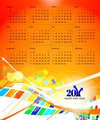 2011 calendar — Stock Vector