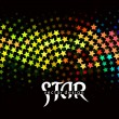 3d star element design — Stock vektor