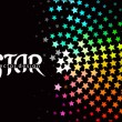 3d star element design — Stockvektor