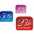 Royalty-Free Stock 矢量图片: 3d glossy sale icon