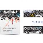 Vector business card — Stock Vector