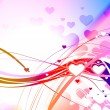 Royalty-Free Stock Vectorielle: Heart background