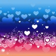 Royalty-Free Stock Vectorafbeeldingen: Heart background