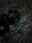 Digital program code — Stock Vector