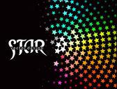 3d star element design — Stock Vector