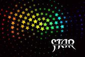 абстрактный фон звезды — Cтоковый вектор