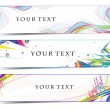 Royalty-Free Stock Imagen vectorial: Abstract banners