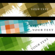 Stock Vector: Abstract banners
