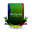 Invitation card — Stock Vector #4472552