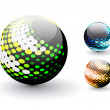 Royalty-Free Stock Vector Image: 3D sphere