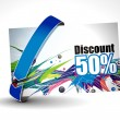 Royalty-Free Stock Vectorielle: Discount card