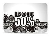 Discount banner templates — Stock Vector