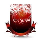 Uitnodigingskaart — Stockvector