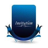 Pozvánka — Stock vektor