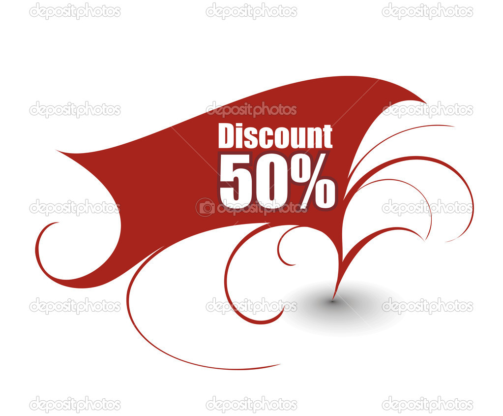 Discount card templates, vector illustration.   Imagens vectoriais em stock #4476867